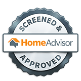 home advisor screened and accepted