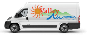 valley air heating and cooling van